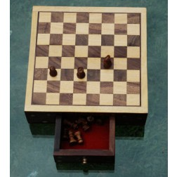 India Chess Set 22cm sq.