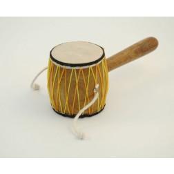 India Tibti Damru (Double Sided Drum)
