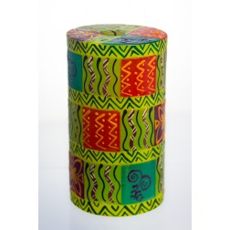 Nobunto Hand-painted Candle - Pillar 8x15cm cube