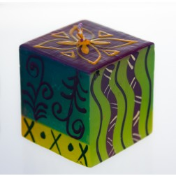Nobunto Hand-painted Candle - 5x5cm cube